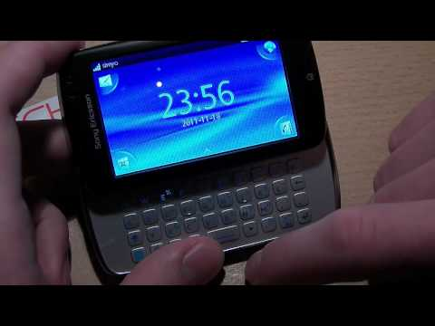 Sony Ericsson txt pro im ausführlichen Hands-On