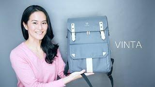 VINTA Camera Backpack Review アメリカの新しいメーカーのカメラバックパックのご紹介