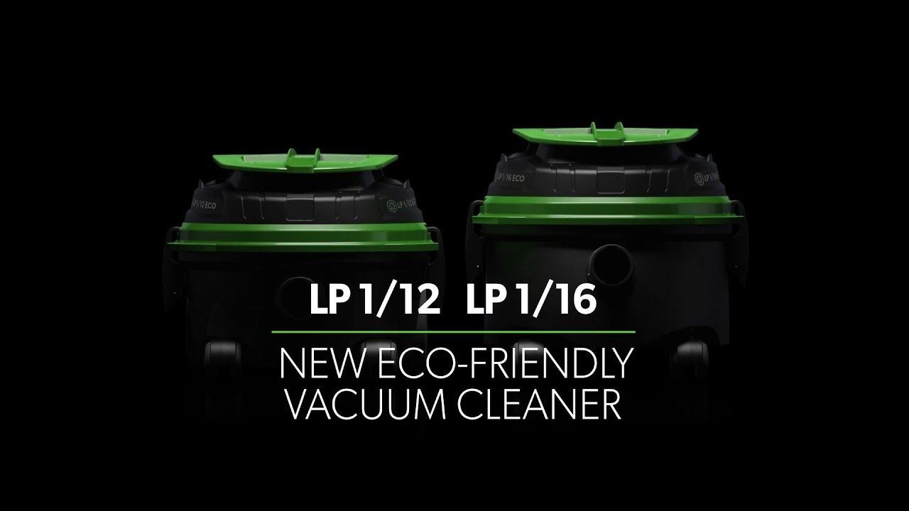 LP 1/12 - LP 1/16:  new eco-friendly vacuum cleaner
