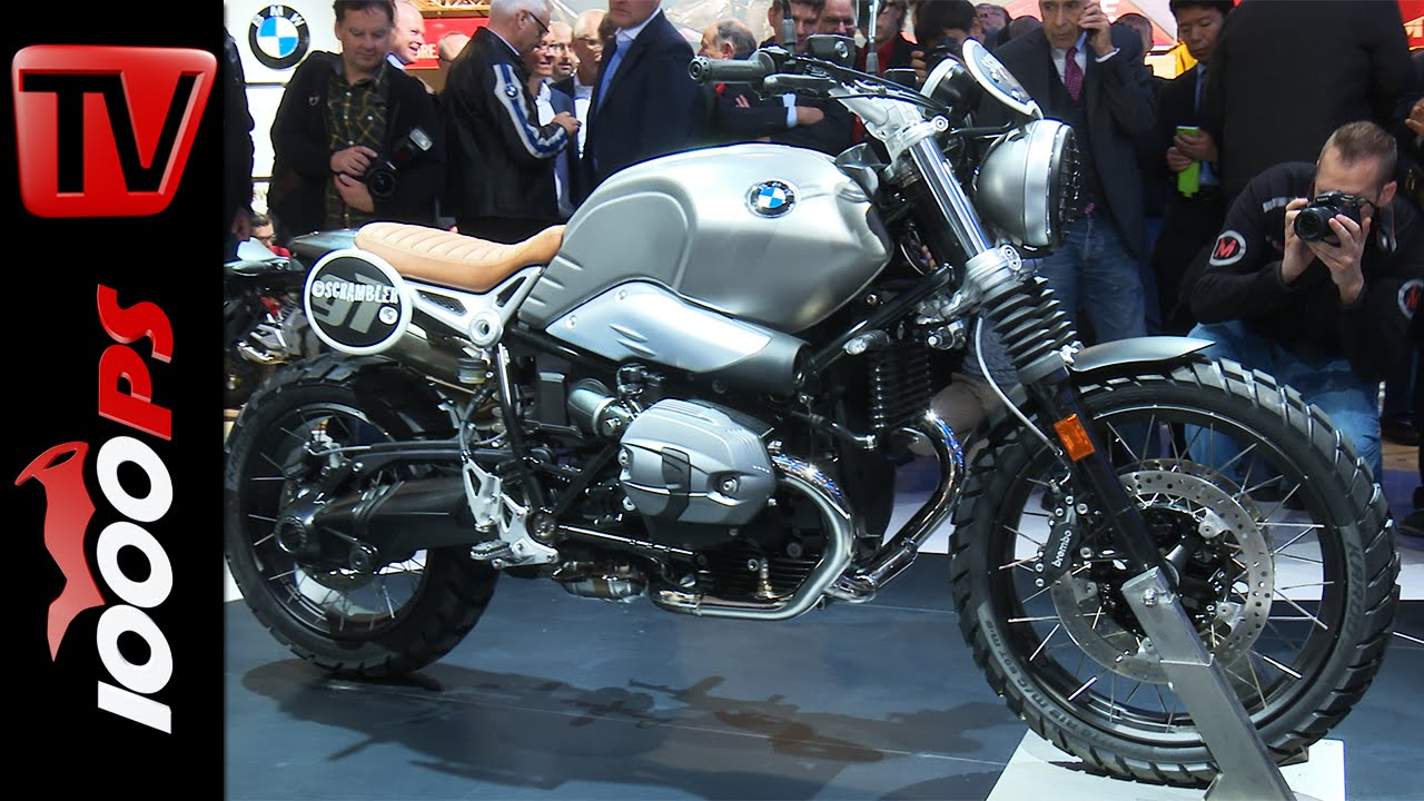 Bmw G310 Bmw R Ninet Scrambler Unveil And First Look At Eicma