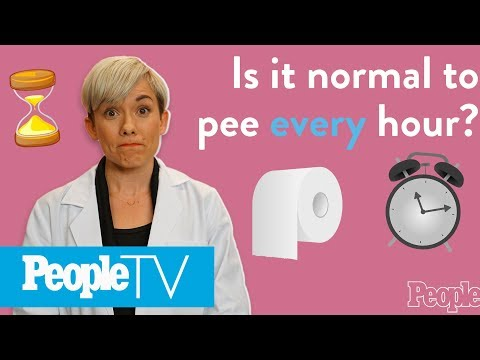Is It Normal To Pee Every Hour? | PeopleTV