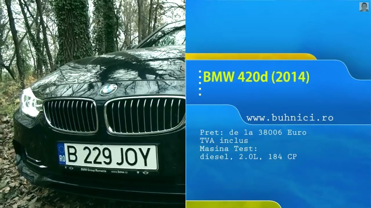 REVIEW - BMW 420d 2014 (www.buhnici.ro)