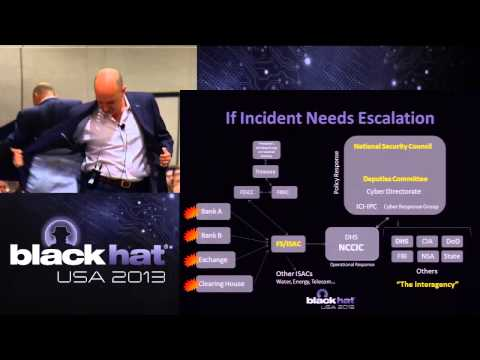 Black Hat USA 2013 - Above My Pay Grade: Cyber Response at the National Level