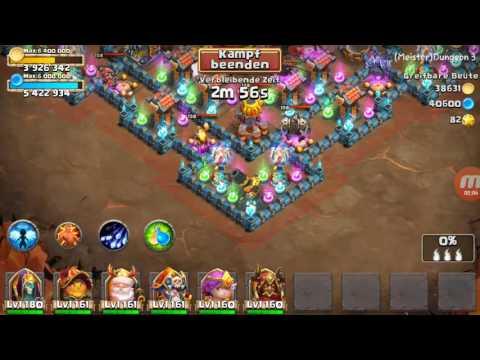 Insane Dungeon 3 10 3 Flames (F2P) 《Castle Clash 》