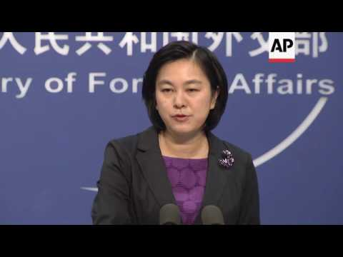 China responds to speech by Japan's Kishida