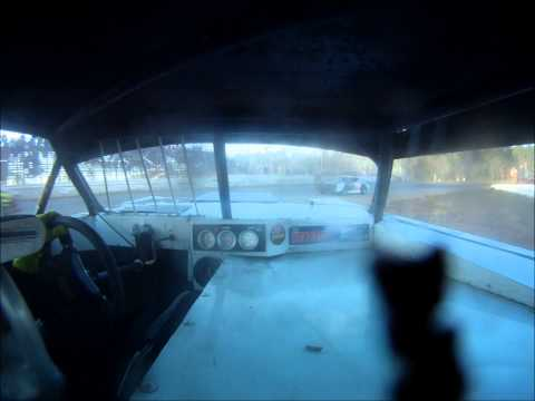 Ronnie Newsome Waycross Motor Speedway Heat Race Go Pro 1-10-15