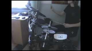 Medeia - Devouring drum cover