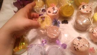 Sunshine Secret Garden Organic Bath Bombs Bath Fizz Thumbnail