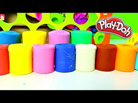 Aprende los Colores Con Plastilina Play Doh Learn the Colors|Mundo de Juguetes
