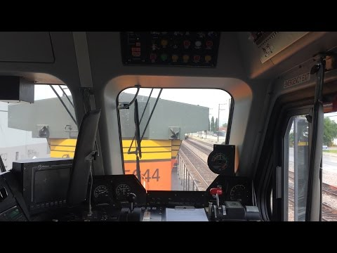 Metrolink HD 60fps EXCLUSIVE: Riding Behind BNSF GE AC4400CW in Rotem Cab Car 658 on Train 687