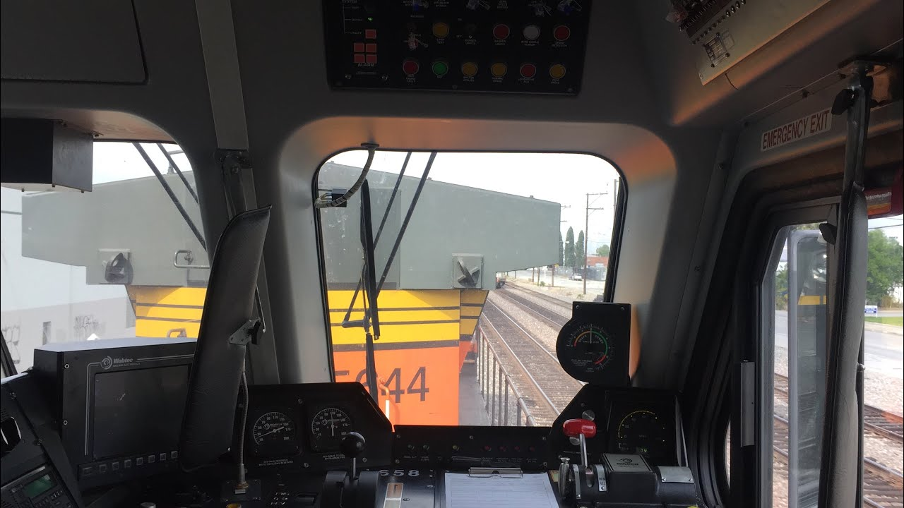 Metrolink Hd 60fps Exclusive Riding Behind Bnsf Ge