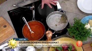 Stjärnkocken lagar god fredagsmiddag för diabetiker - Nyhetsmorgon (TV4)