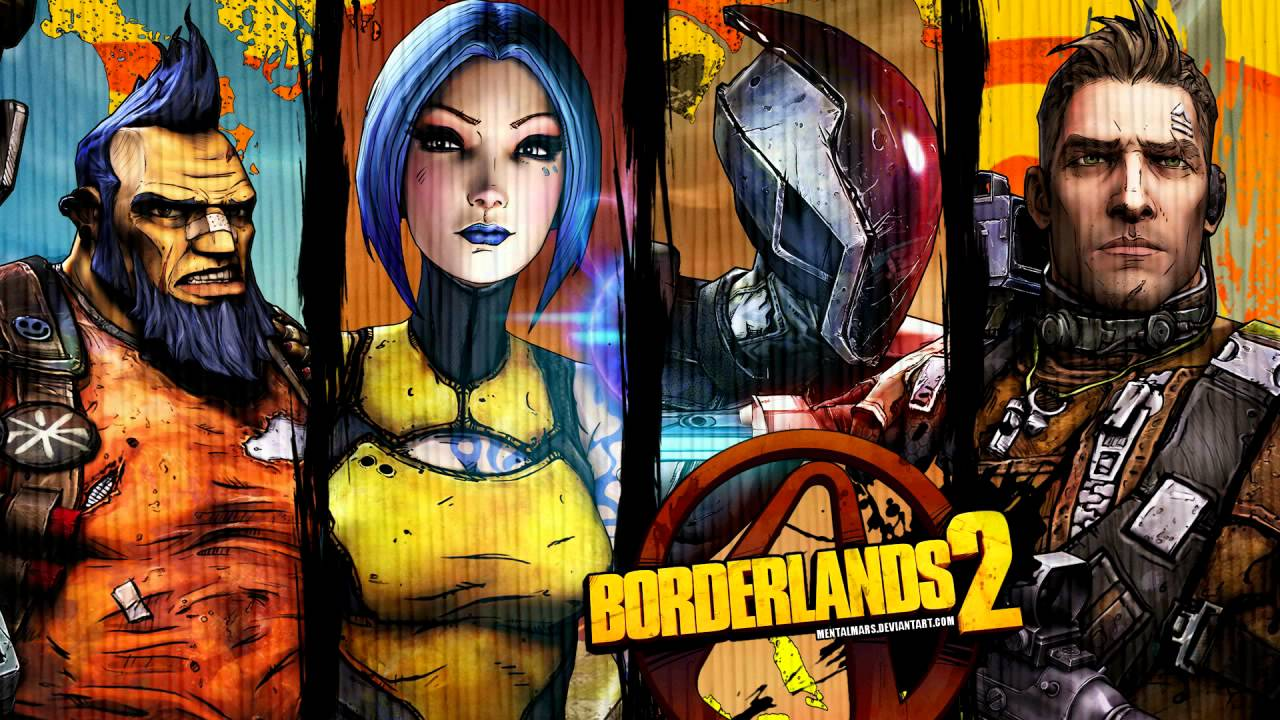 Borderlands 2 HD Wallpapers - YouTube