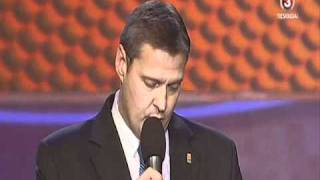 EuroBasket 2011 FIBA Europe President at the Draw Ceremony in LITHUANIA.wmv