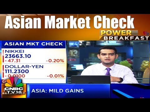Power Breakfast | Asian Market Check | 12th Jan 2018 | CNBC TV18