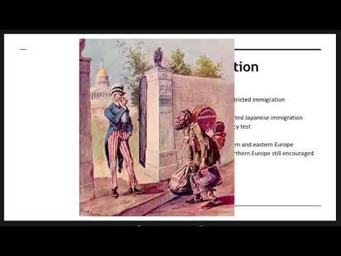 #12   New Immigration & Urbanization