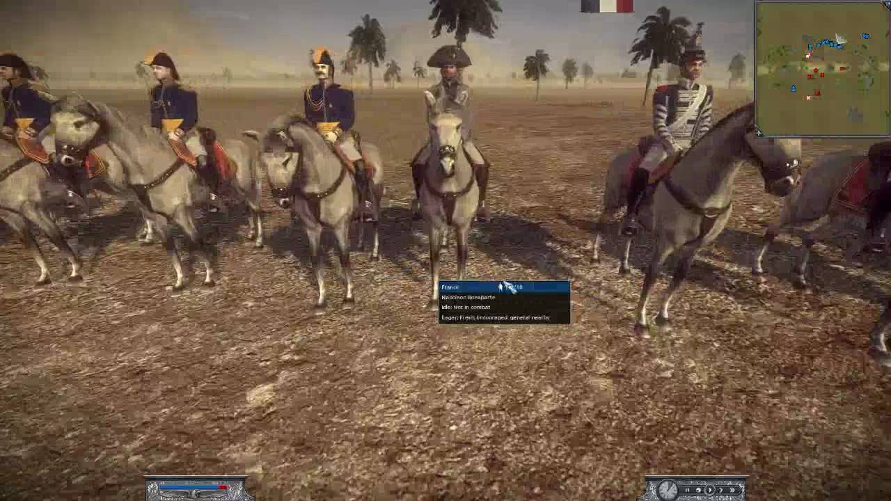 how to play as france in napoleon total war