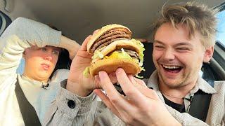 Vi testar McDonalds hemliga meny