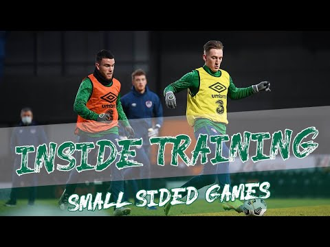 Inside Training | INTENSE small-sided game | Screamers & Saves