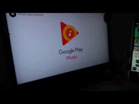 Cast Google Play Music Playlist Demo