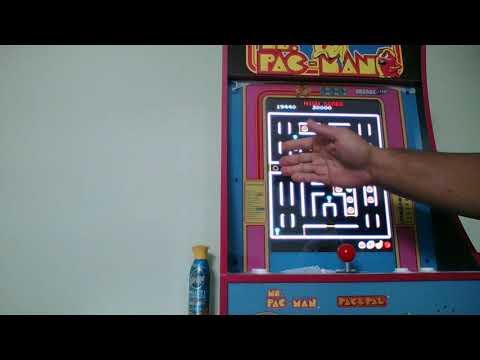 super pac man on ms pac man 1up arcade from garrett spencer
