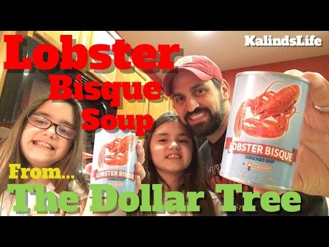 Lobster Bisque Soup Review From The Dollar Tree!