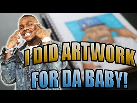 I DID ARTWORK FOR DABABY!!!