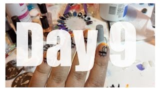 Vlogtober Day 9 ~ Nail Art & The Absent Minded Professor