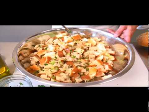 Recipe Video Www Laura In The Kitchen Com Stuffing For Poultry