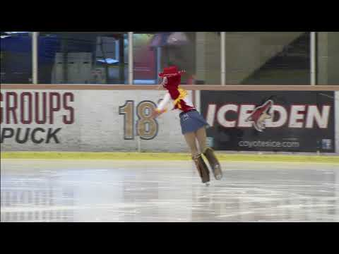 Lilli  Ice Skating - When Somebody Loved Me - Jesse Toy Story - Pre Prelimary Dra