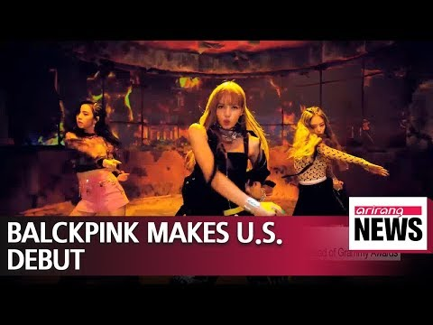 Blackpink's debut performance in U.S. gets standing ovation ahead of Grammy Awards Mp3