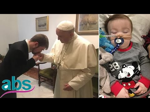 Alfie Evans's father flies to Rome to ask Pope to help save his son  | ABS US  DAILY NEWS