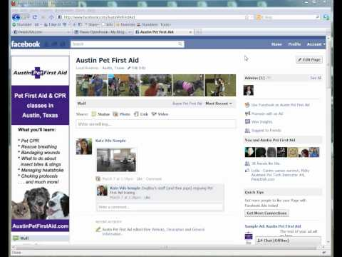 How to show featured admins on Facebook pages
