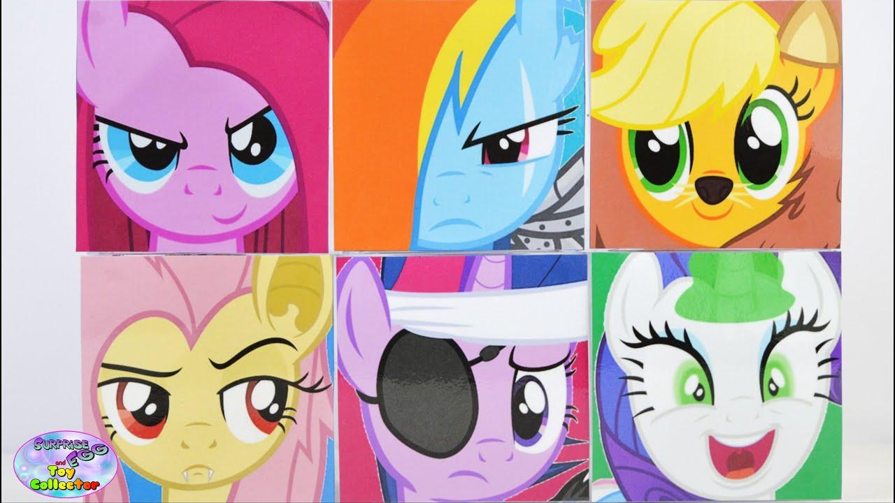 My Little Pony Surprise Cubeez Cubes Mlp Mane 6 Show