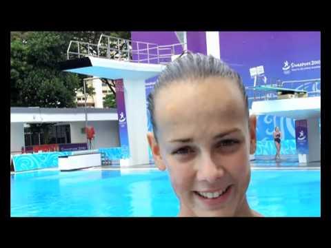 Premières impressions de Pauline Ducruet (plongeon)