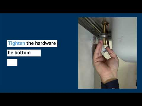 Retrofitting T&S above-deck sensor faucets