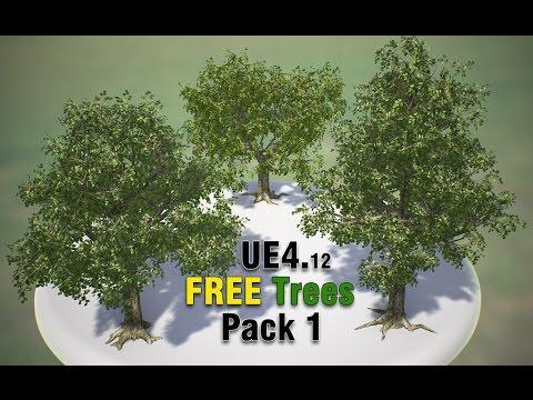 UE4 FREE Trees Pack1