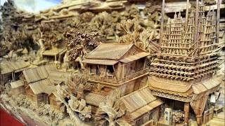 Longest Wooden Carving 清明上河圖木雕