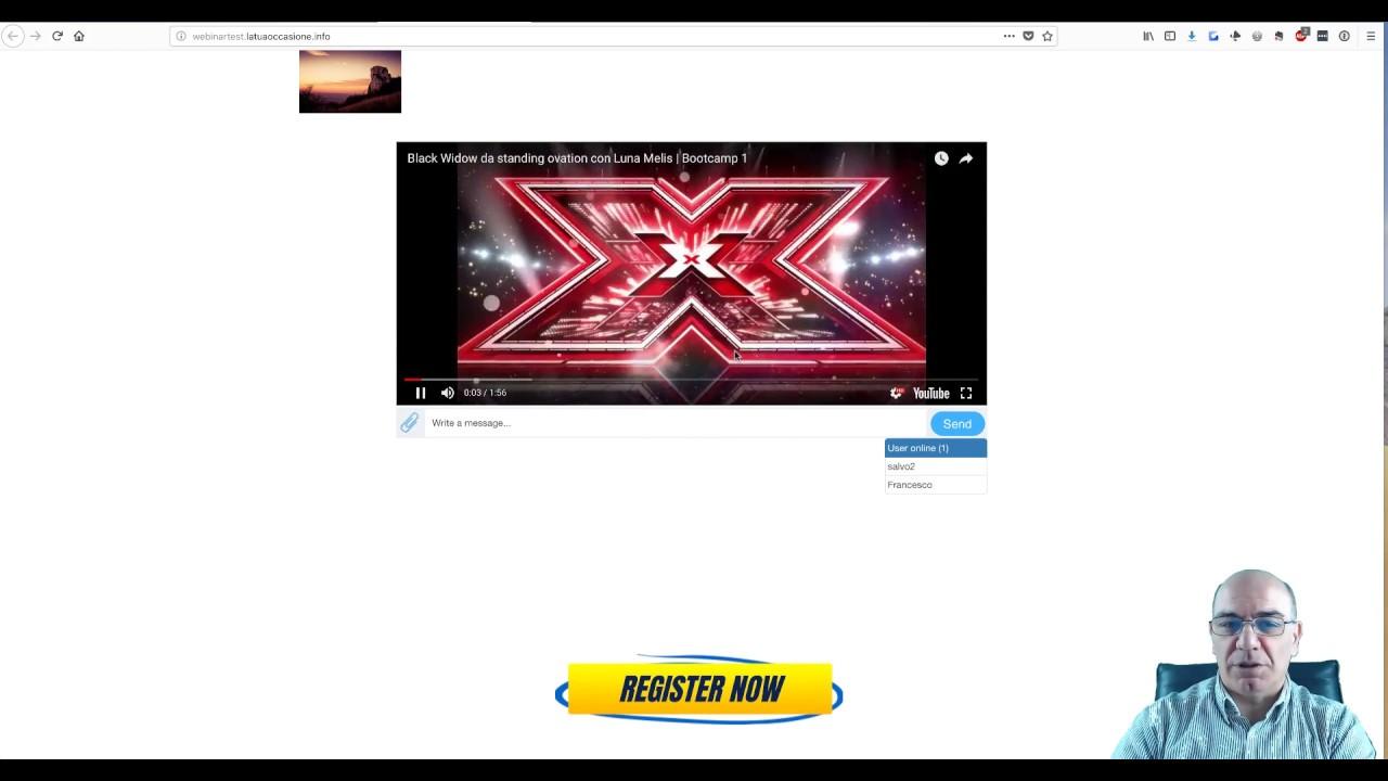 Video 4) Andare live con la Sala Webinar di Builderall