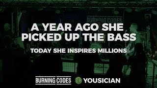 A Year Ago She Picked Up The Bass. Today She Inspires Millions.
