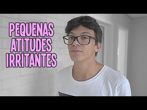 PEQUENAS ATITUDES IRRITANTES EM UM DIÁLOGO
