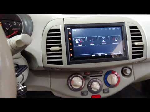 Nissan Micra K12 οθονη Target Acoustics Android 8 Gps Igo- Sygic Dousissound