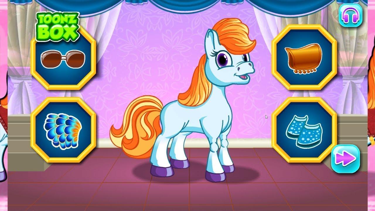 เกมส์ คลินิครักษาลิตเติ้ลโพนี่ | The sweet little pony care.