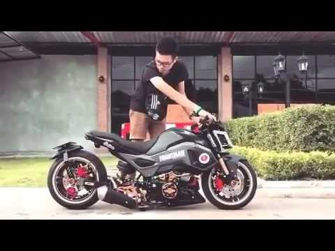 honda msx 125 modification youtube. Black Bedroom Furniture Sets. Home Design Ideas