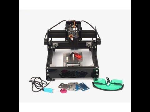 LY 10W laser laser engraving machine 200*140MM metal engraver marking machine