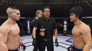 Tom Duquesnoy vs. Bruce Lee (EA Sports UFC 3) - CPU vs. CPU