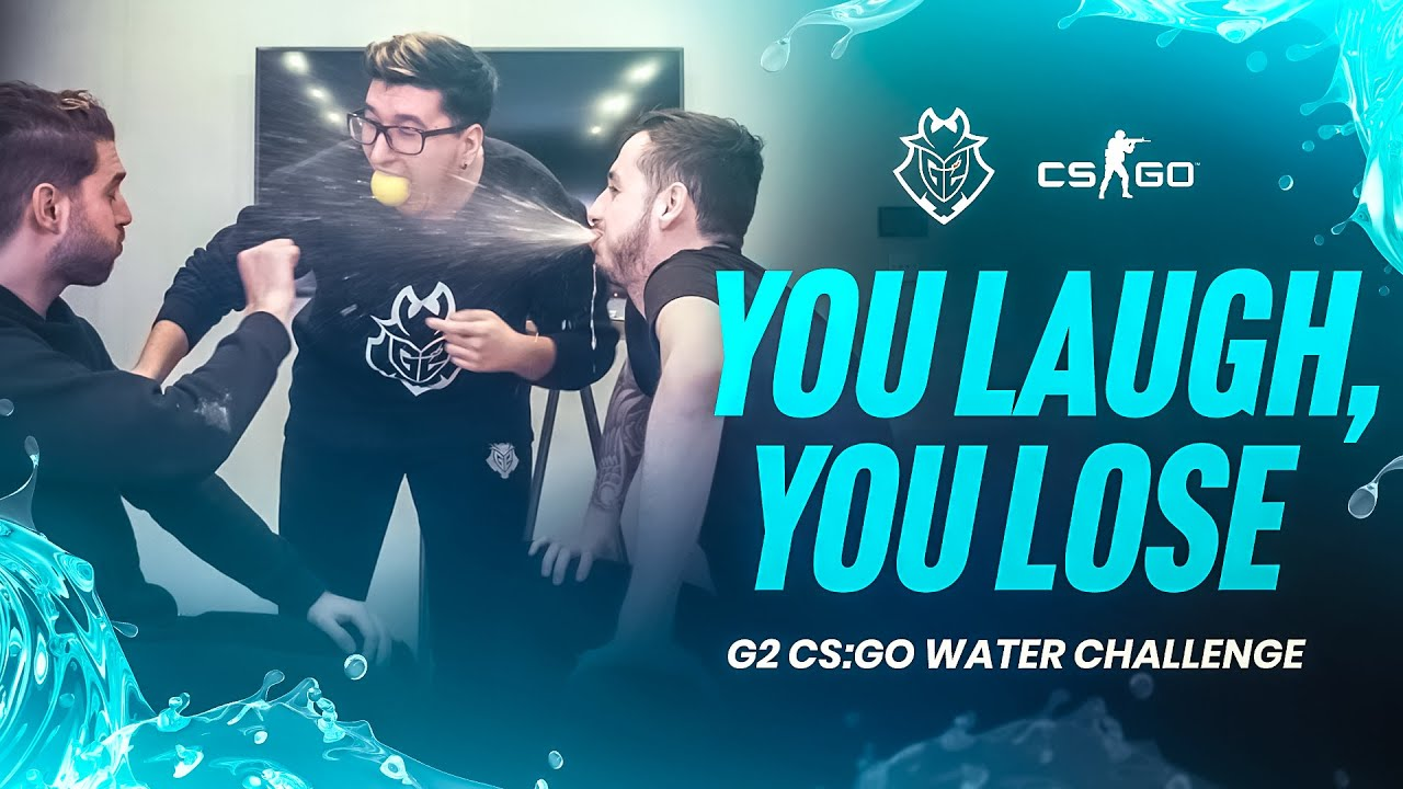 You Laugh, You Lose | G2 CS:GO Water Challenge