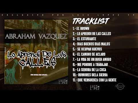 CD Corridos Vol 1 - Abraham Vazquez (2018)  ESTRENO  [ESTUDIO] CORRIDOS 2018