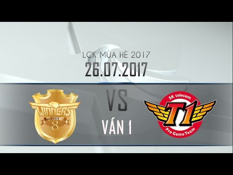 [26.07.2017] Ever 8 vs SKT [LCK Hè 2017][Ván 1]