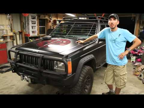 Doomsday Preppers - Zombie Windshield Protection